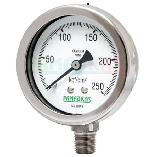 Manômetro Petroquímico FFN - Famabras