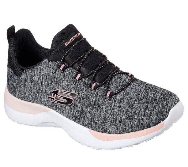 Tenis Esportivo Skechers Dynamight Break Through Preto Mescla - 12991-Bkcl