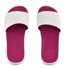 slider beira rio feminino branco pink - 8419202-bcopk