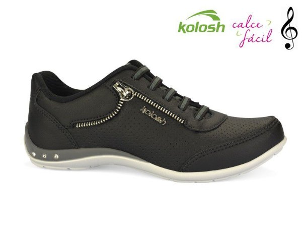 Tenis Casual Kolosh Calce Facil