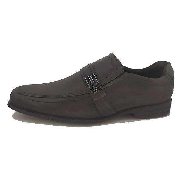 Sapato Social Ferracini Loafer De Couro E Fivela