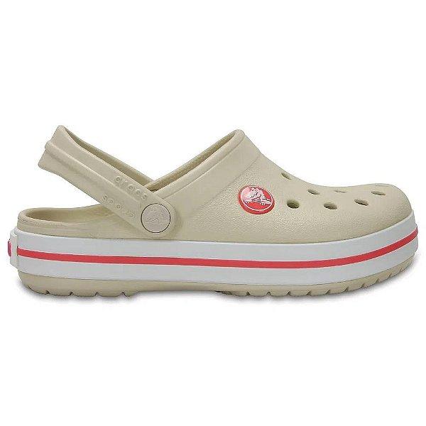 Clog Crocs Infantil Crocband Stuco Mellon
