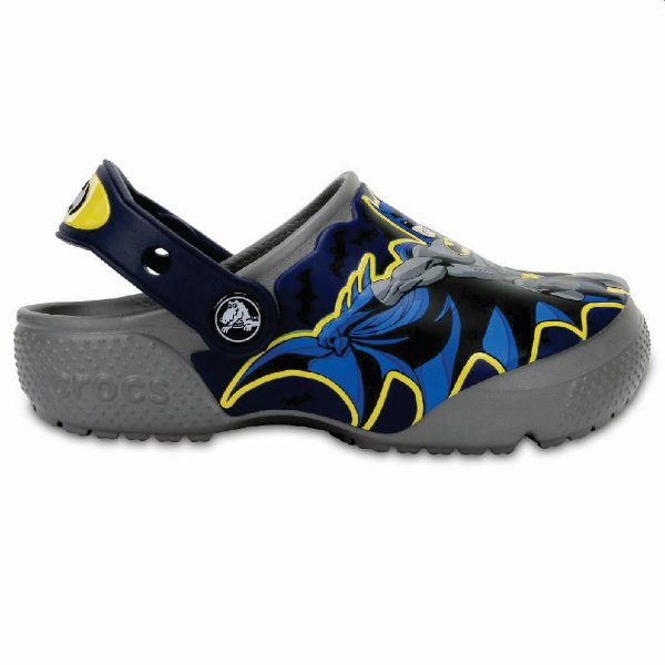 Clog Crocs Infantil Funlab Batman Smoke