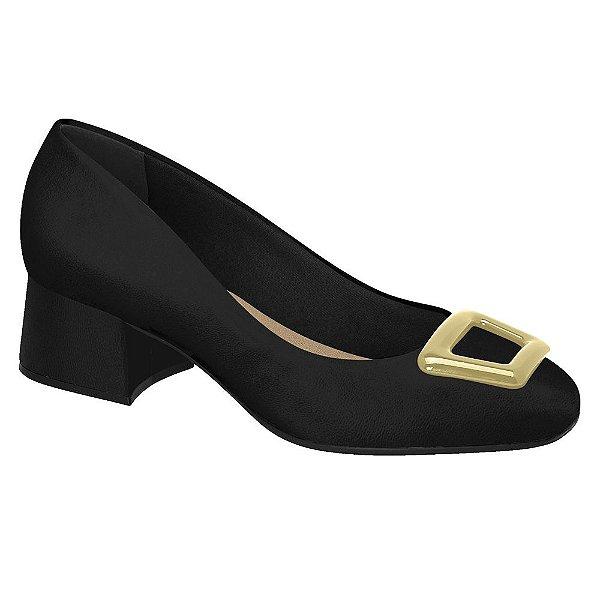 Sapato Casual Beira Rio Conforto Salto Pantalona