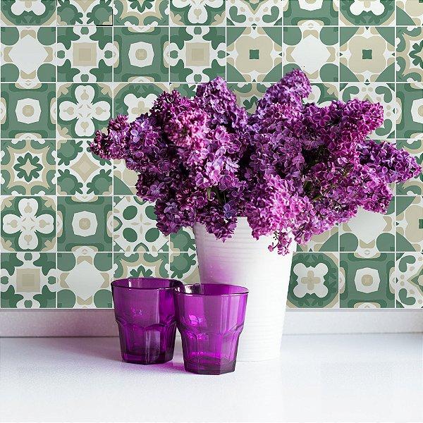 Adesivo de azulejo 20x20 para cozinha vila do conde for Azulejos conde