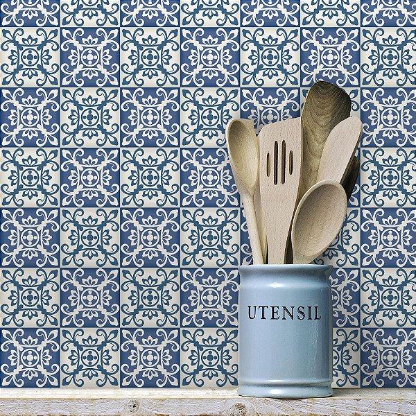 Adesivo de Azulejo Coimbra 15x15 cm com 36 un