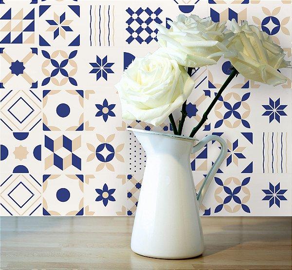 Adesivo de Azulejo Francesco 20x20 cm com 24 un