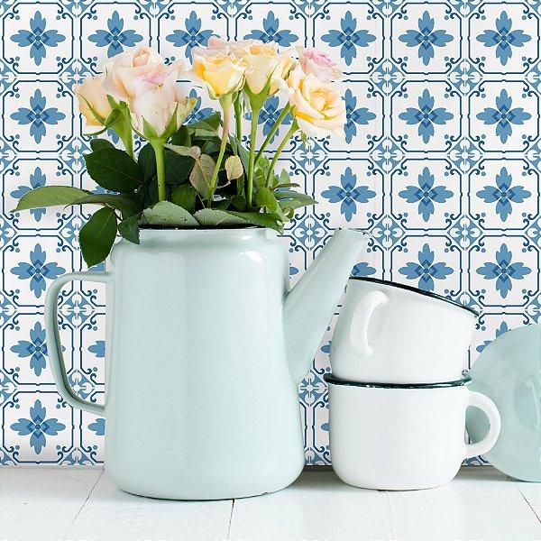 Adesivo de Azulejo Portugal 10x10 cm com 100 un