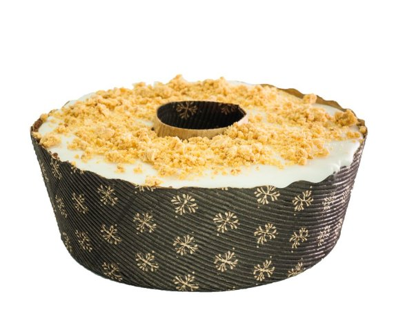 Forma Torta Suíça 500grs Pap. Ondulado - Forneável – Decorado - 10 UN - R$ 3,44 Unitário