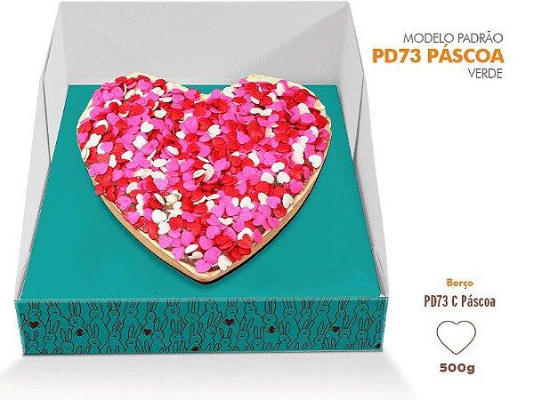 Caixa Pascoa para Ovo de colher Verde - Berço coração - R$ 7,12 a unidade
