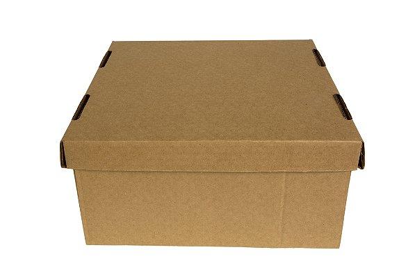 Caixa nº5 - 26 x 26 x 12 -  Impresso Kraft