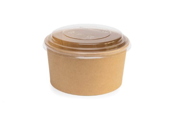 Bowls Ecopack 750ml  - Tam. 150x128x60 - c/ tampa - 24x5