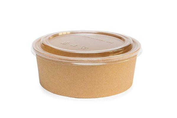 Bowls Ecopack 1300ml - Tam. 184x160x66 - c/ tampa - 24x5