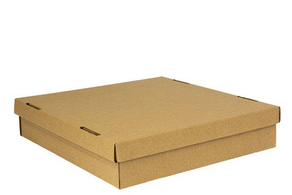 Caixa nº1 - 30 x 30 x 7 - Kraft