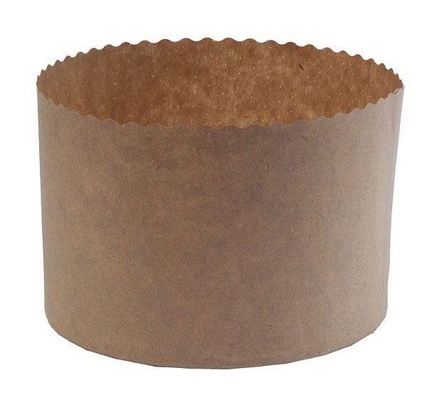 Forma de Panetone Kraft 1 Kg. Pcte. c/ 20 UN–R$ 0,80 a Unidade