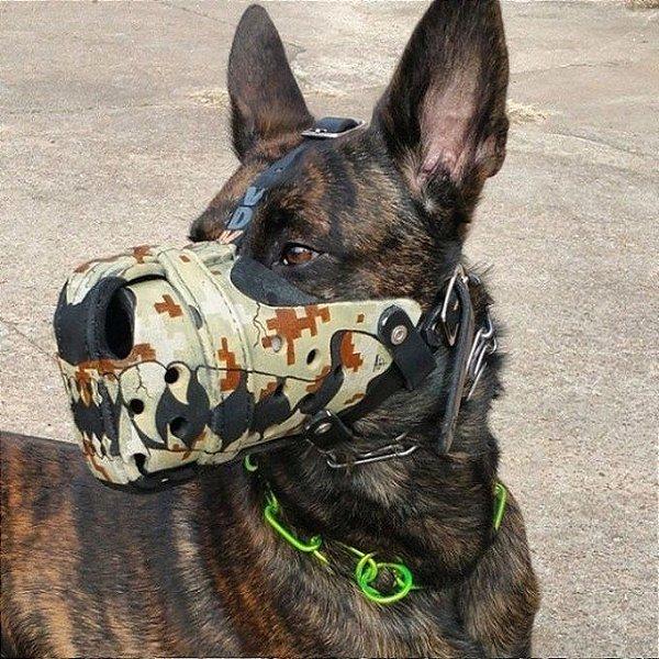 Focinheira Estilizada para Cachorro Sob Encomenda - ver especificações (especificar as medidas na finalização da compra, nos comentários)
