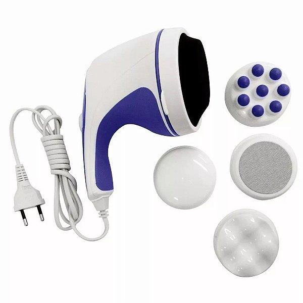 Massageador Elétrico Relaxante Anti Stress Orbital Relaxe Spin Tone + Acessórios