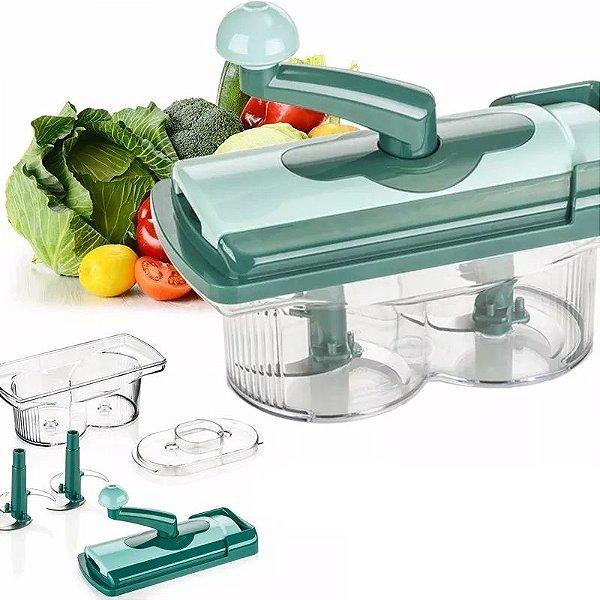 Picador de Legumes Misturador de Alimentos Saladas Legumes para Maionese Caseira (Pré-Cozidos)