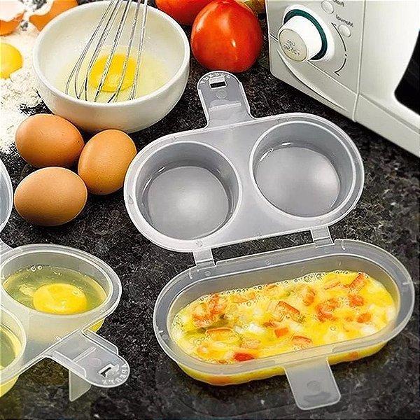 Forma Omeleteira Para Fazer Ovos E Omelete No Microondas Sem Usar Oleo