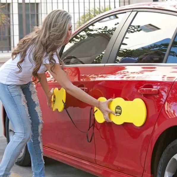 Protetor De Porta Automotivo Magnético Para Carro Shields - Tamanho Largo