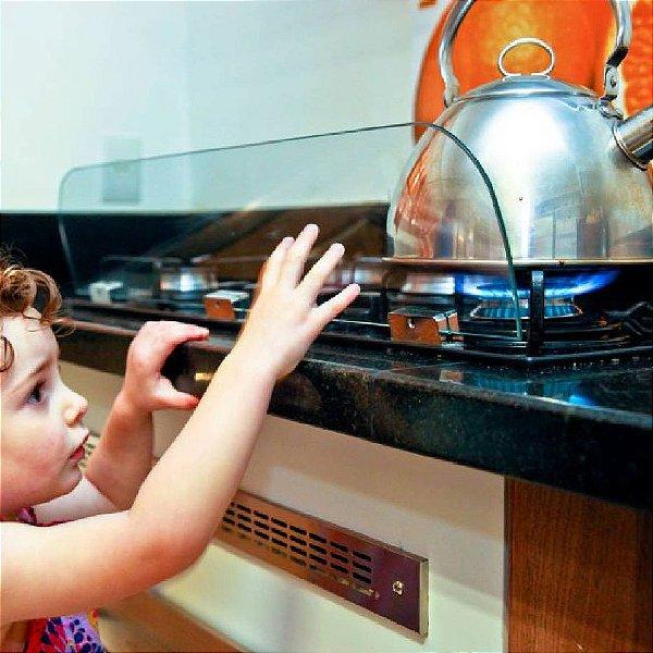 Protetor De Fogão De Vidro Temperado Para Crianças Família