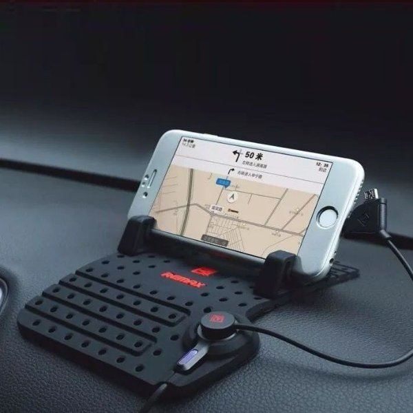 Suporte Para Celular Com Recarregador Para Carro Taxistas Uber