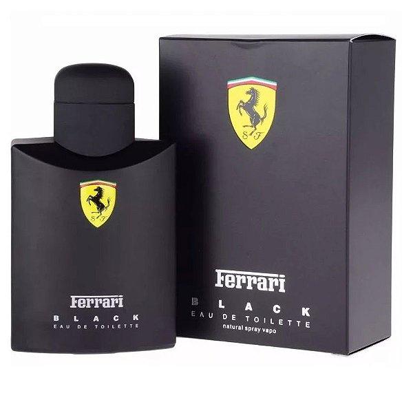 Perfume Masculino Importado Ferrari Black 125ml