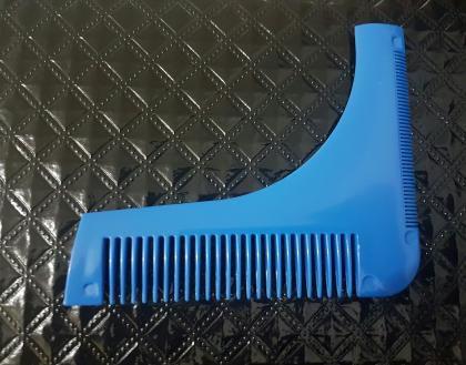 pente régua alinhador de barba