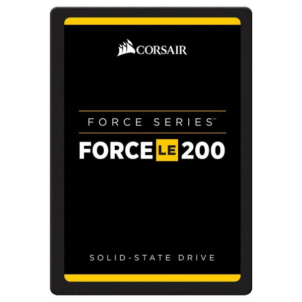 SSD Corsair Force LE200 2.5´ 120GB SATA III 6Gb/s Leituras: 550MB/s e Gravações: 500MB/s - CSSD-F120GBLE200C