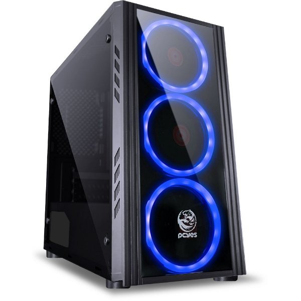 PC Gamer - INTEL I3 8100, Placa Mãe H310, Geforce GTX 1060 6Gb, 8Gb Ddr4, Hd 1Tb, Fonte 500W