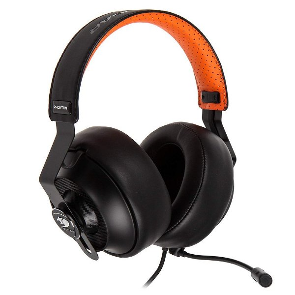 Headset Gamer Cougar Preto/Laranja Phontum - 3H500P53B