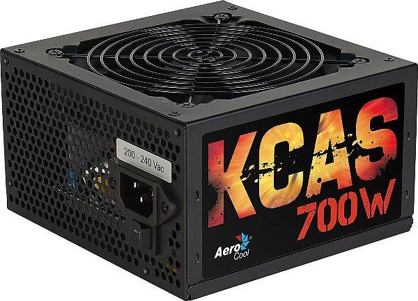 Fonte Aerocool 700W 80 Plus Bronze KCAS-700W - EN53381