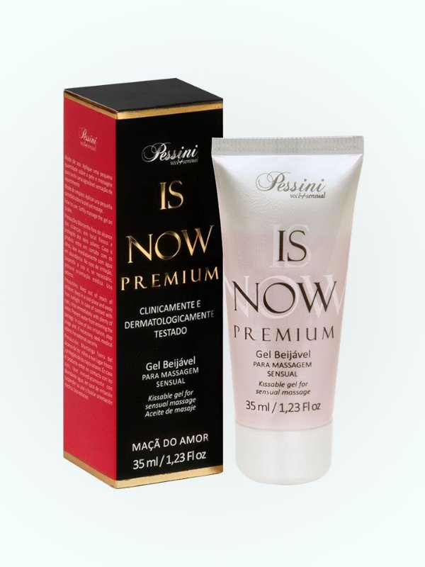 IS NOW PREMIUM GEL BEIJÁVEL MAÇA DO AMOR PESSINI