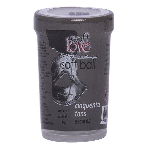 BOLINHA 50 TONS ESCUROS SOFT LOVE