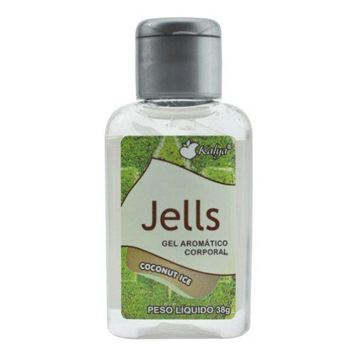 Gel para massagem coco gelado - JELLS COCONUT ICE - KALYA