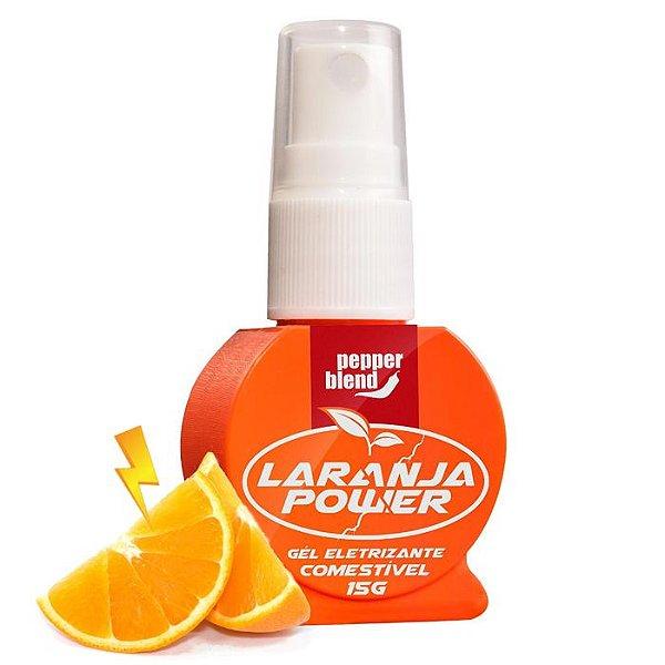 Gel Eletrizante Laranja - Laranja Power - Pepper Blend