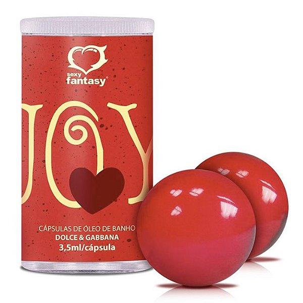 Bolinhas de Óleo Corporal para Massagem - Joy Red
