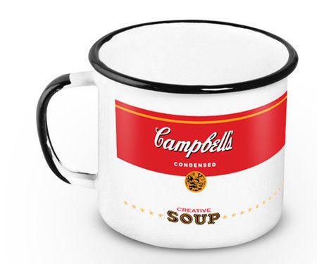 Caneca Esmaltada Campbell's 360ml