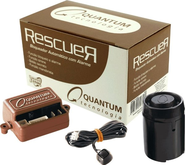 Bloqueador Automático e Alarme - Quantum