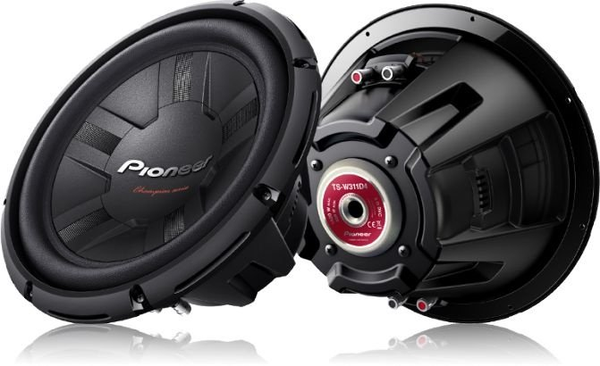 Subwoofers - TS-W311D4 - Pioneer