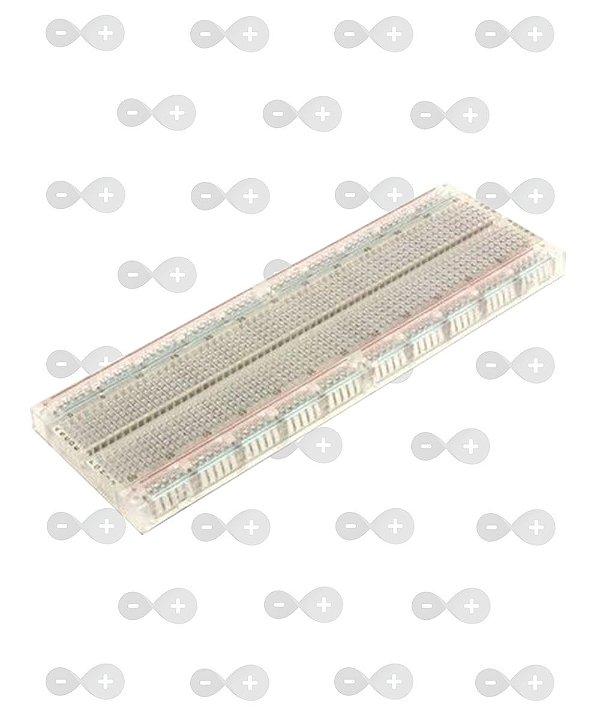 Protoboard 830 pontos Transparente