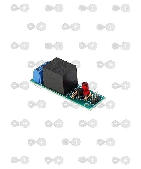 Módulo Relé de 10A Simples - GBK Robotics