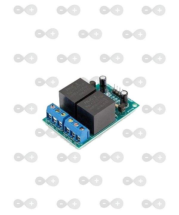 Módulo Relé 2 Canais 10A - GBK Robotics