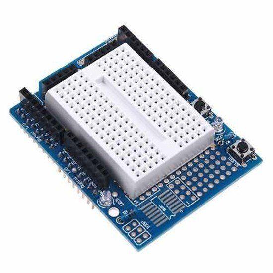 Protoshield Para Arduino Uno + Mini Protoboard