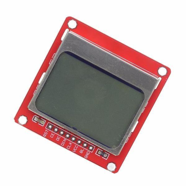 Display LCD Nokia 5110 84x48 pixels