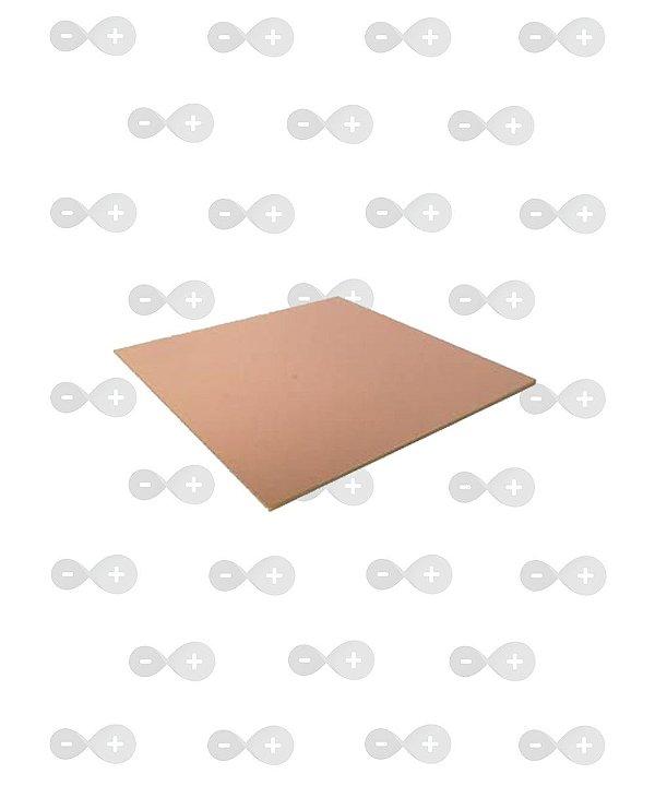 Placa de fenolite simples 15x15