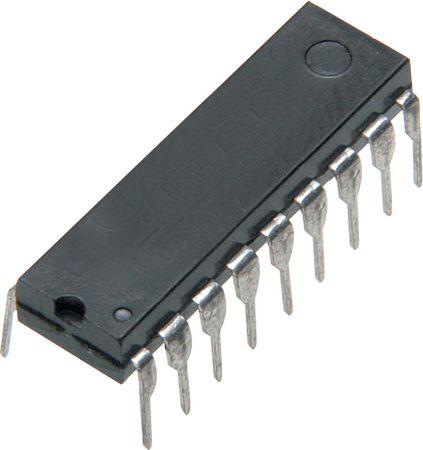 Microcontrolador PIC 16C711-04/P