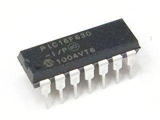 Microcontrolador PIC 16F630-I/P-DIP