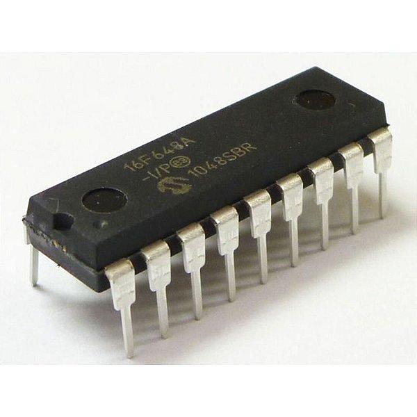 Microcontrolador PIC 16F648A-I/P