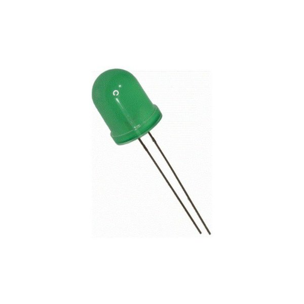 LED DIFUSO 10MM VERDE